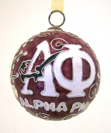 APhi Round Color Ornament