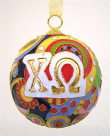 ChiO Psych Ornament