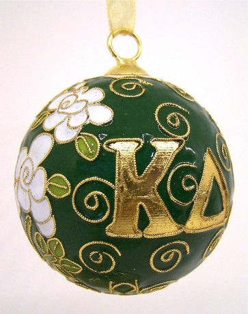 KD Round Color Ornament