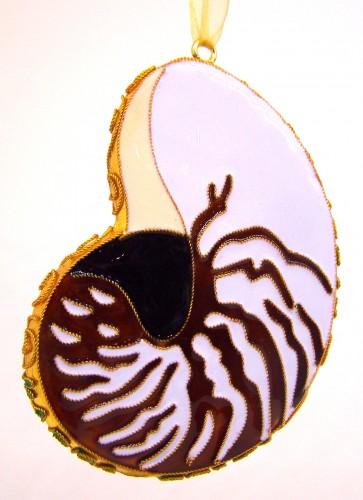KD Nautilus Ornament