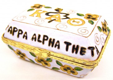 Theta Cloisonne Box