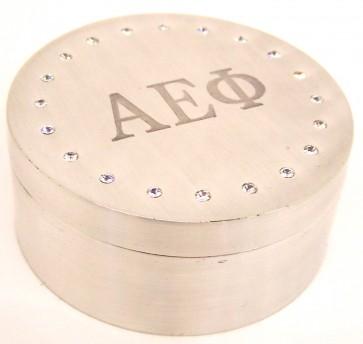 AEPhi Round Box