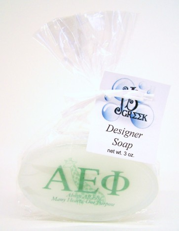 Sorority Logo Soap - Alpha Epsilon Phi
