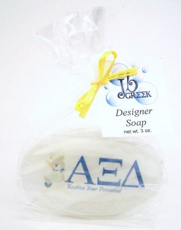 Sorority Logo Soap - Alpha Xi Delta