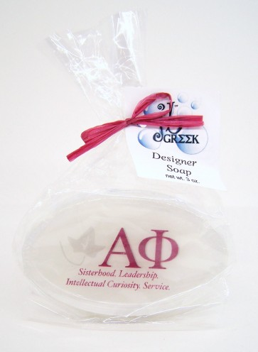 Sorority Logo Soap - Alpha Phi