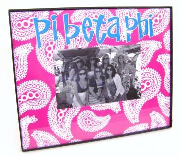 Paisley Picture Frame - Pi Beta Phi