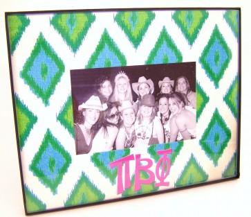 Ikat Picture Frame - Pi Beta Phi