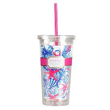 Lilly Pulitzer Tumbler - She She Sells