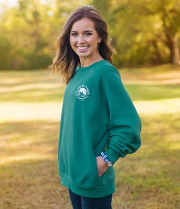 Raglan Fleece Sweatshirt by Southern Shirt Company
