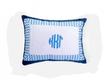 Kappa Kappa Gamma Minky Dot Pillow