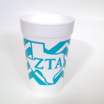 Zeta Styrofoam Cups - Set of 10