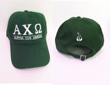 Alpha Chi Embroidered Baseball Cap