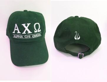 Alpha Chi Embroidered Baseball Cap