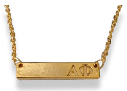 Sorority Bar Necklace