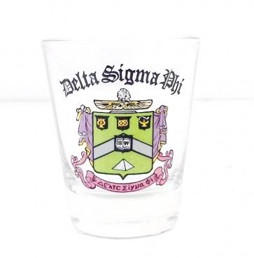 Delta Sigma Phi Glass