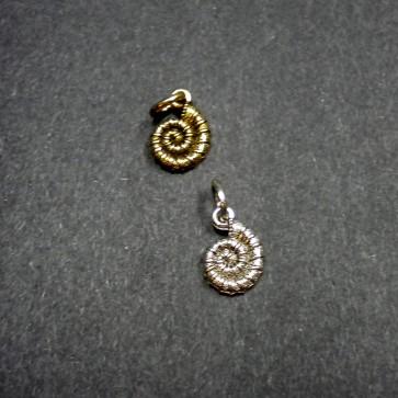 Nautilus Shell Charm