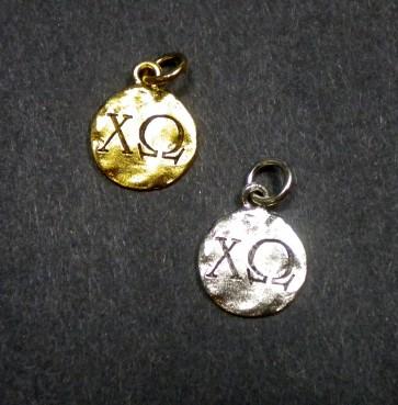Monogram Chi Omega Charm