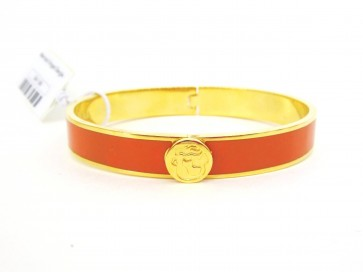 Spartina 449 Mermaid Hinged Bangle - Orange