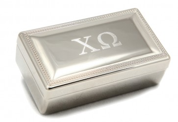 ChiO Rectangle Box