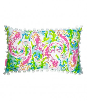 Lilly Pulitzer Medium Indoor/Outdoor Pillow