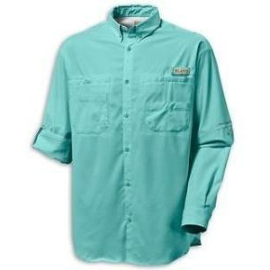 Columbia PFG Bahama II Long Sleeve Shirt - Gulf Stream
