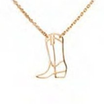 Boot Necklace - Contour Collection
