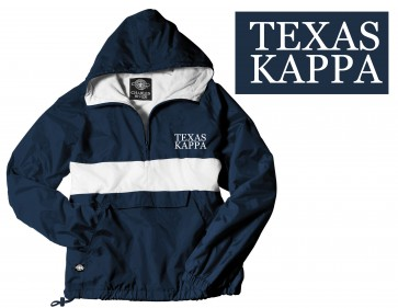 KAPPA CLASSIC EMBROIDERED RAINJACKET