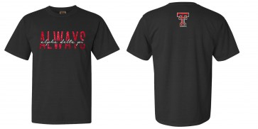 ADPi TT Game Day Shirt - Black