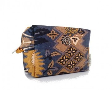 Spartina 449 Cosmetic Travel Case - Silver Dew