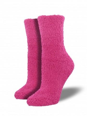 Warm & Fuzzy Pink Socks