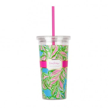 Lilly Pulitzer Tumbler - In the Bungalows