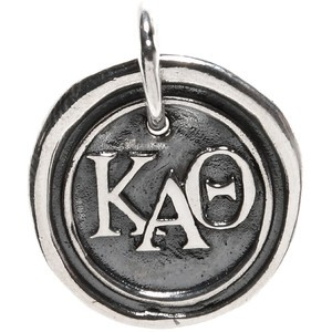 Waxing Poetic Sorority Charm-Kappa Alpha Theta