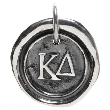 Waxing Poetic Sorority Charm - Kappa Delta