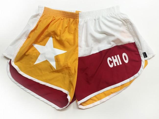 Boa Chi Omega Running Shorts Melissa S Custom Gifts