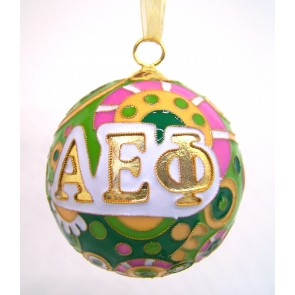 AEPhi Psych Ornament
