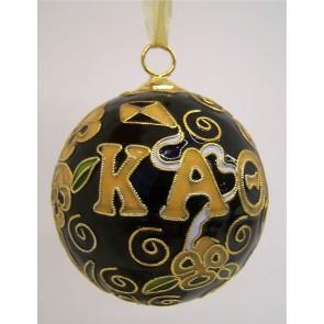 Theta Round Color Ornament