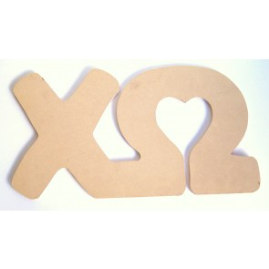 Chi Omega Wall Letters