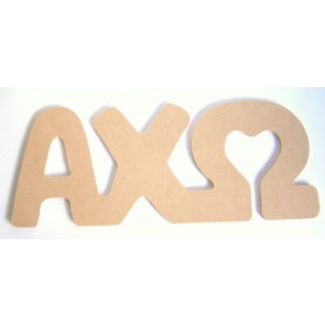 Alpha Chi Omega Wall Letters