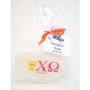 Sorority Logo Soap - Chi Omega