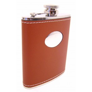 hound brown flask