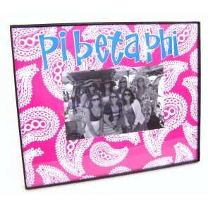 Paisley Picture Frame - Pi Beta Phi