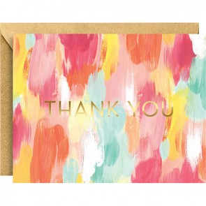 Brush Stroke Thank You Notes (10 Pack)