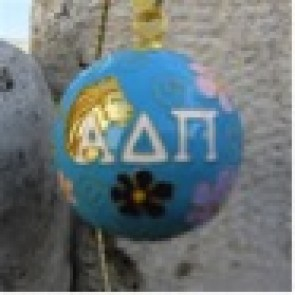 ADPi Round Color Ornament