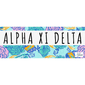 Alpha Xi Delta Lilly Pulitzer Cover Photo