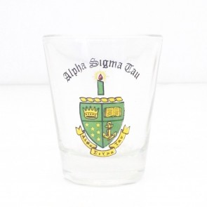 Alpha Sigma Tau Mini Glass