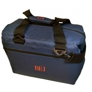 "12-Pack ""Premium"" Monogrammed Soft-Sided Cooler (with Handle Monogram Option)"