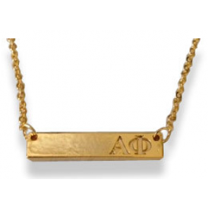 Sorority Bar Necklace