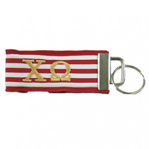 ChiO R/Wt Thin Stripe Fob