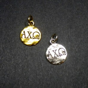 Monogram Alpha Chi Omega Charm