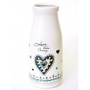 Ceramic Vase - Love Like Crazy
